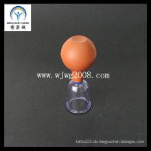 Gummibolzen Vakuumsaugung Cupping-PC Cup Akupunktur