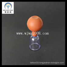 Rubber Bulb Vacuum Suction Cupping-PC Cup Acupuncture