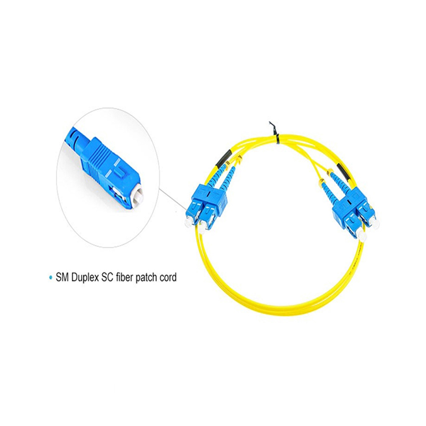 Pvc Duplex Fiber Optic Patch Cord