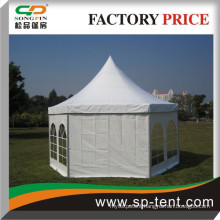 cheap wedding marquee hexagon pagoda tent for garden party events