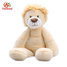 China factory price stuffed animal toy sitting lion brown plush