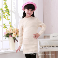 hot selling heavy winter cashmere pullover roll neck sweater for girl