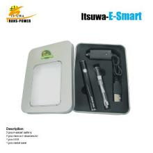 2014 popular ecigs e smart metal case kit ecigarette