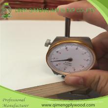 1220X2440X16mm peuplier ou bois dur E1 colle Firproof HPL contreplaqué avec un prix moins cher