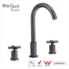 Хайцзюнь высокий спрос продукции купч стандартом ISO 9001:2008 двойной ручкой ванной латуни Кран