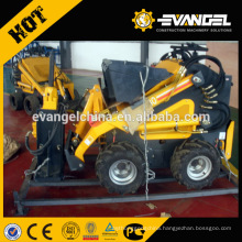 Mini Skid Steer Backhoe loader mini wheel loader for sale