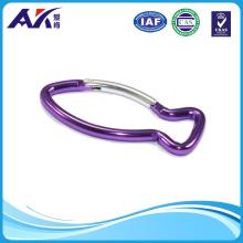 Fish Shape Aluminum Carabiner Hook