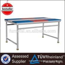 S301 1.8m Heavy Duty Stainless Steel Work Bench With 6 Chopping Boards