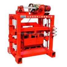 QTJ4-40 Low Price Build Brick Concrete Cement Hollow Interlocking Solid Block Making Machine for Sale in Ethiopia