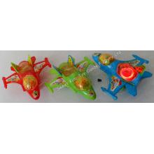 Flash Plane Spielzeug Süßigkeiten (121107)