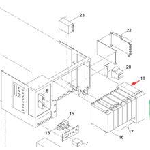 Panasonic SMT Motor Driver for Sp60p-M Screen Printer Machine (N510005941AA)