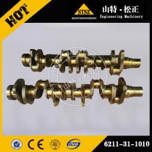 komatsu PC400-7 excavator crankshaft 6151-35-1010