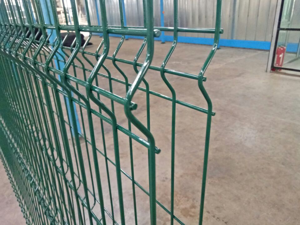 Steel wire Mesh Fencing Panel (3)