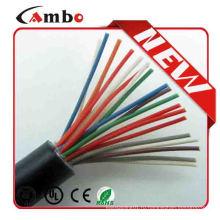 Телефонный кабель cat3 огнестойкий наружный телефонный кабель для водонепроницаемой и устойчивой к растрескиванию лучшей цены с лучшим качеством