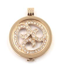 Модный дизайн плавающей ожерелье для ожерелья подвеска