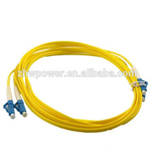 LC optical fiber cable,sm dx fiber optic patch cord,optic fiber jumper made in China