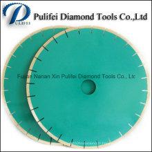 Lame de marbre de diamant de marbre de marbre de diamant de outils de diamant de soudure