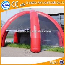 PVC tarpaulin inflatable bubble lodge tent inflatable garage car tent/canopy