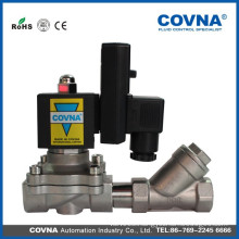 Stainless steel garden irrigation solenoid valves