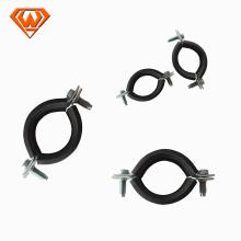 collier de serrage en acier au carbone avec caoutchouc EPDM