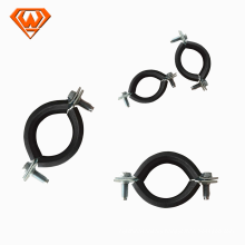 carbon steel pipe clamp with EPDM rubber