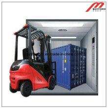 Склад безопасности грузовой лифт с машинным помещением