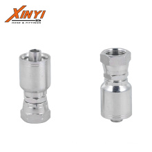 New 1 piece hose fitting/one Piece Crimping Hydraulic Hose Fittings BSP JIC Metric