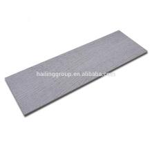 Paneles exteriores Revestimiento de grano de madera Revestimiento de fibra de fibrocemento