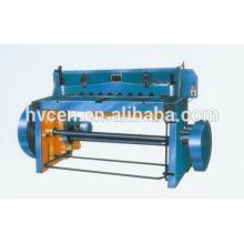 Q11-4x2500 máquina de corte de chapa de chapa mecánica de corte de metal