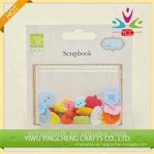 2016 Garn Innendekoration Alibaba co uk Chinas Lieferanten eingefärbte Kunststoff-Tasten für Kinder