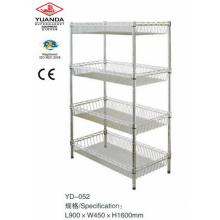 Metal Basket Display Stand Wire Rack