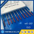 отличное качество TIG сварки стержень 1.0*150 2% Торированного вольфрамовый электрод wt20