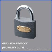 Precio barato candado de hierro gris MID-Heavy Duty