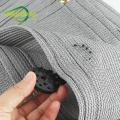 Acessórios de tecido de tom preto ganchos de engate