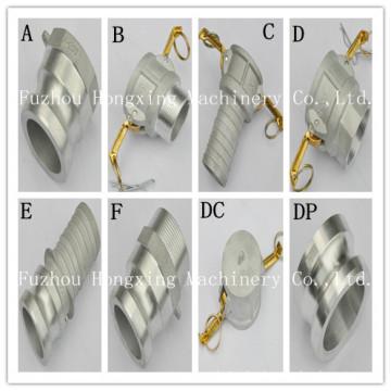 Aluminum quick release coupling China manufacturer