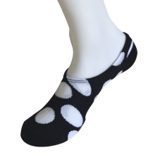 Half Cushion Poly Fashion Big Circles Chuck Socks (JMPCK03)