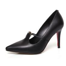 Женщин высокие каблуки и насосы