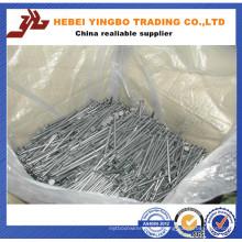 Clous communs de bobine soudés par fil de 15-16 degrés 45-56mm fournis