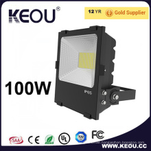 AC85-265V SMD2835 Bridgelux 100W LED Floodlight PF>0.9 Ra>80