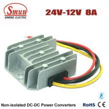 24В на 12В 8А Электропитание автомобиля DC преобразователь