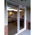 Puertas correderas automáticas con gafas