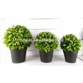 Simulação ecológica bola de grama artificial bonsai decoração