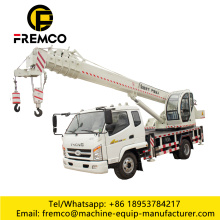 High Quality FOTON Wheel Truck Crane