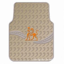 Anti-skidding PVC Car Mat, Used for Protecting Car from Dust, Ideal for Car, Truck, Vans and RVS