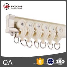 Rail de rideau incurvé flexible en aluminium de haute qualité à prix abordable