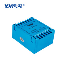 power isolating AC volt transformer 8VA 220V 24V