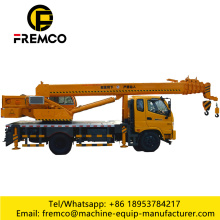 Mobile Lattice Boom Hydraulic Crane Truck