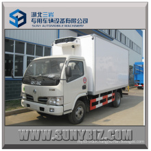 4t Dongfeng 4X2 Refrigerated Van Truck