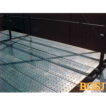 Pranchas de andaimes de segurança de metal para construção usadas na Austrália