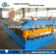 Metal Roof Panel Corrugated Forming Machine / Galvalume Trapezoidal Tiles Rolling Machine